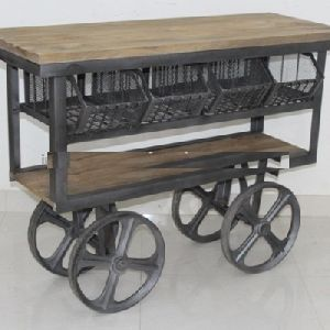 Kitchen Cart Trolley With Drawers