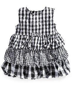 Kids Checkered Frocks