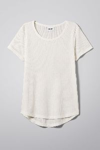 Ladies Plain Round Neck T-shirts