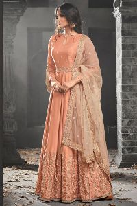 Floor Length Girls Bridal Wedding Wear Salwar Kameez
