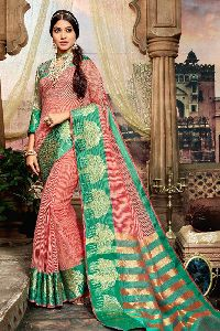 Unique Satin Latest Printed Sarees Wholesaler Buy Party Wear Sarees