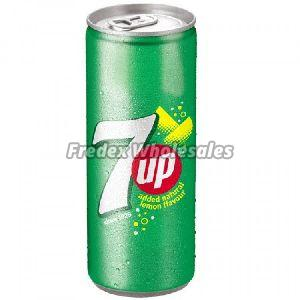 7 Up Soft Drink Can