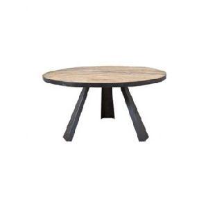 Iron 3 Leg Dining Table