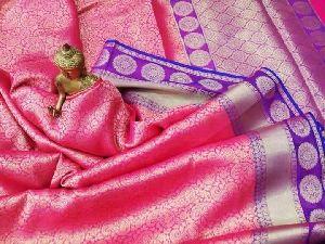 Banarasi Semi Katan Silk Saree