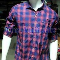 Men Casual Check Shirt