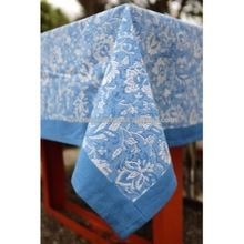 Cloth Block Printed Table Cover Indian Table Cloth