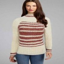 Classic Cream Women Knitted High Neck Sweater