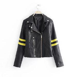 Sporty Leather Jacket