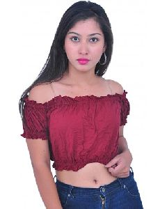 Tribal Belly Dance Cotton Tops