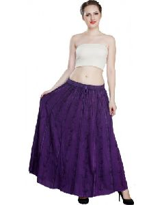 Waist Maxi Long Casual Skirt