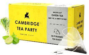 Cambridge Tea Party - Lime Lemongrass Green Tea