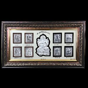 999 Silver Ashthavinayak Frame