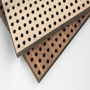 Perforated Wooden Slats