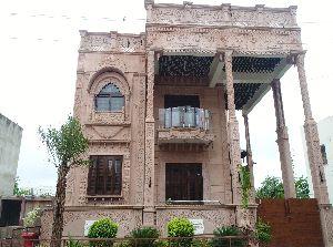 Sandstone Building Elevation
