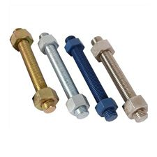 Stud Bolts, Thread Bars And Nuts