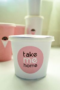 Ice Cream Cup With Custom Logo by Mr Paper Cup