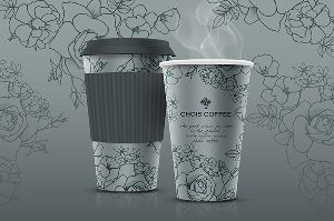 Paper Cup with Company Logo by Mr Paper Cup
