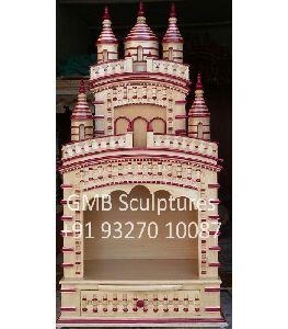 Dakshineswar Kali Temple From Wood