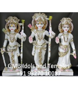 Ram Darbar Statues From Marble