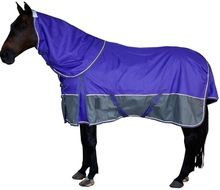 Purple 1200d Turnout Winter Horse Combo Rug
