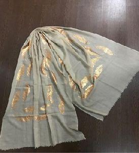 Foil Prints On Cashmere