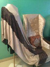 Bamboo Viscose Silk Pashmina Shawl