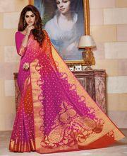 Saree Blouse Hand Design Katan Saree
