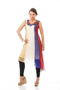 Designer Beautiful Ladies Party Wear Tunic Kurti Long Kurti Kurta