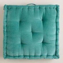 Pouf And Floor Cushion Plain Bohemian Meditation Cushion