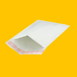 White Bubble Mailers
