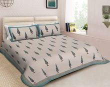 Jaipuri Handmade Bedsheets With Pillow Cover