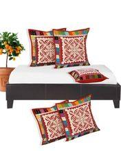 Salona Bichona Cotton Kantha Cushion cover set