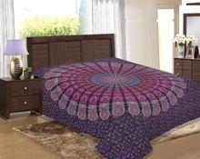 Salona Bichona New Bagroo Printed Jaipuri Bed Sheet