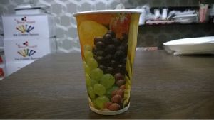 Paper Juice Cup With Lid