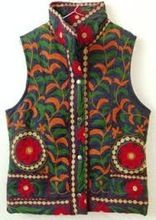 Cotton Embroidered Women Jacket