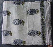 Hand Block Printed Summer Quilts