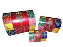 Colorful Decorative Hand Painted Wooden Boxes