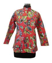 Hand Block Printed Coat Women Jacket