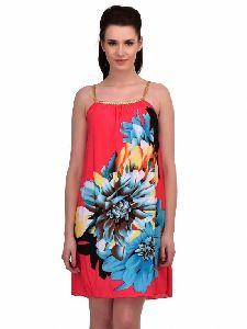 Flower Print Beach Dresses