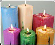Designer Color Candles