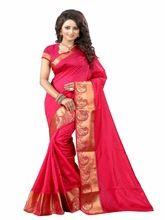 Kanjivaram Cotton Silk Saree