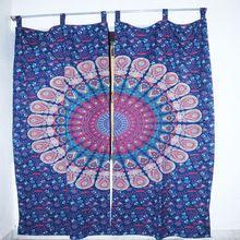 Designer Mandala Cotton Curtain