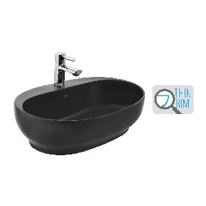 CAFE SILK BLACK wash basin