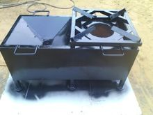 Biomass Pellet Continuous Feed Stove