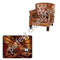 Vintage Leather Furniture For Hotel