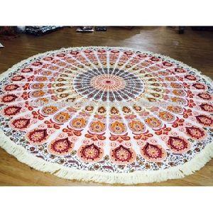 Cotton Mandala Tapestry Bedspread