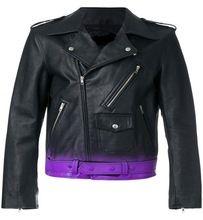 High quality Cool gradient-effect biker jacket
