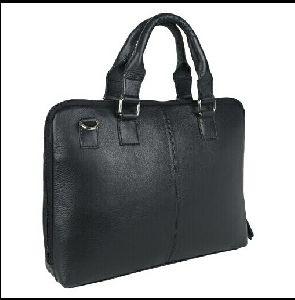 Nl-107 Leather Laptop Bag