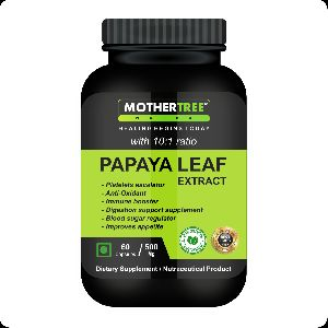 Papaya Leaf Extracts Capsules