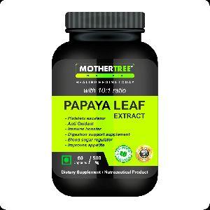 Papaya Leaf Extracts Capsules